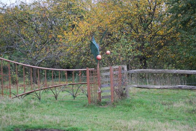 Sculpture, Northward Hill Reserve