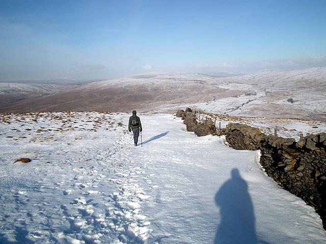 Descending from Park Fell
