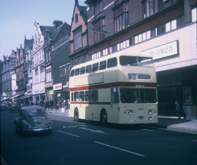 A Bus in Leicester City Centre (1)