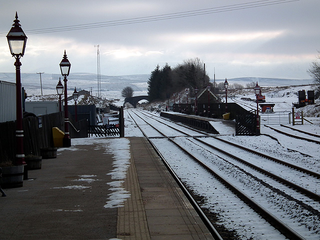 Looking 'south' from Ribblehead Station