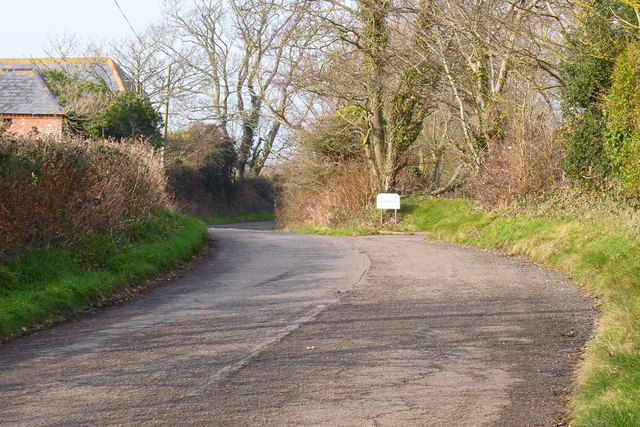 Old Lymington Road, Hooper's Hill