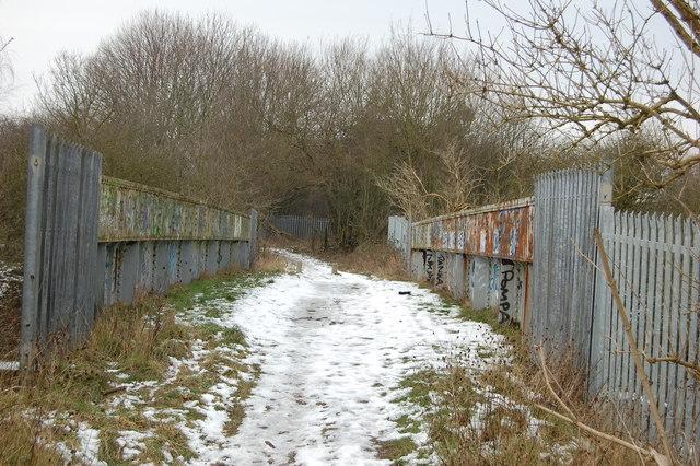 Bridge Over Midland Railway (old road)