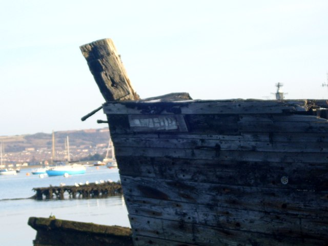 """Whip"" - port bow area"