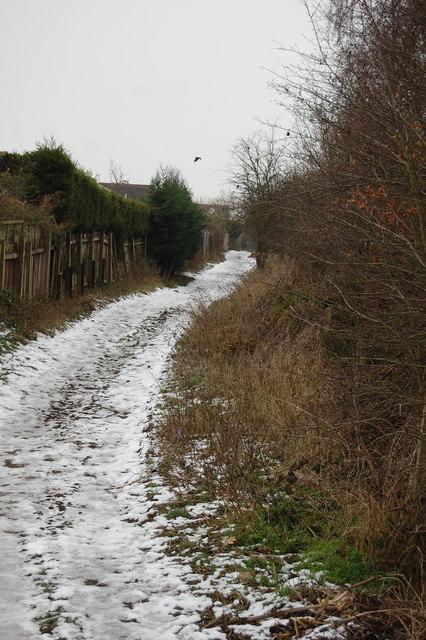 Field Lane looking south
