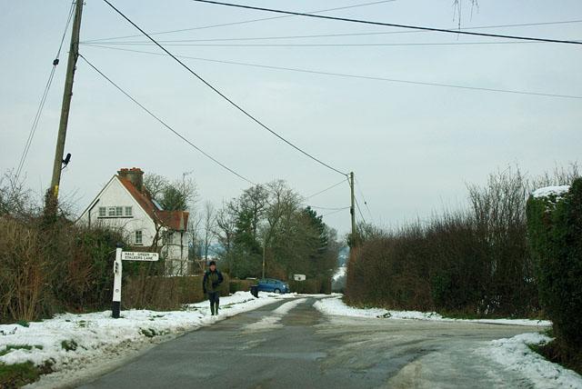 Graywood Lane at Stalkers Lane junction