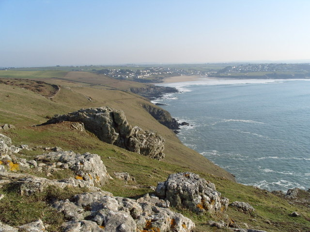 Pentire Point on the North Cornish Coast