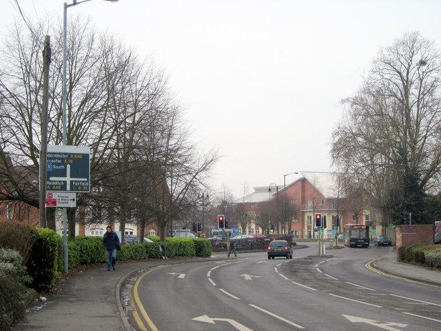 Bromsgrove Birmingham Road Crossroads