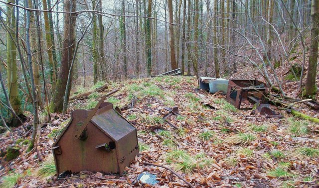 Junk at an Old Mine