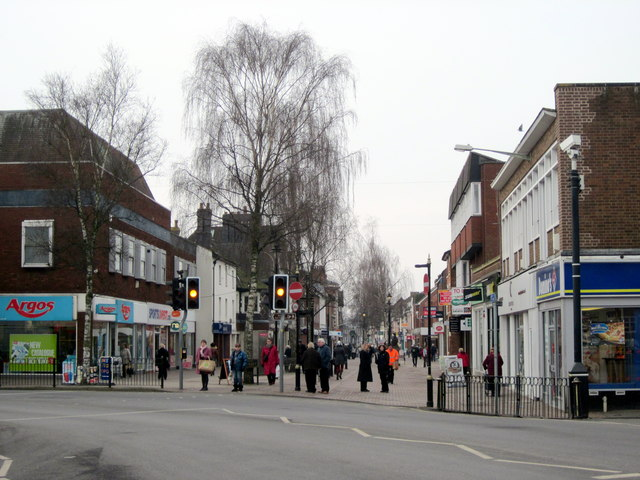 Bromsgrove Start of High Street