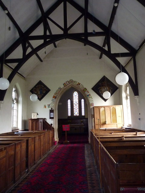 St Mary's church interior