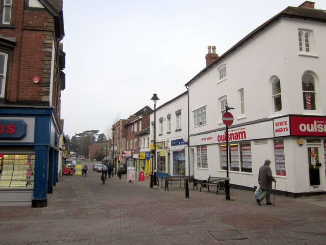 Bromsgrove Church Street From High Street