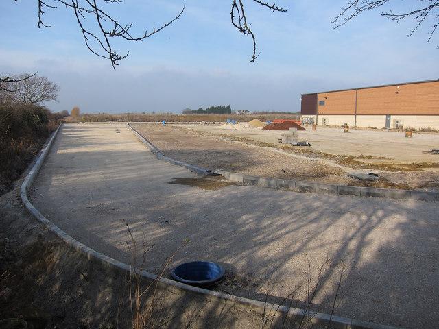 Still a construction site