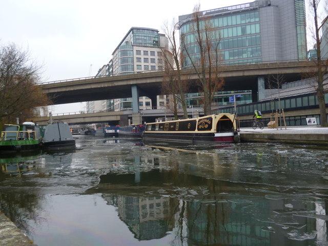A404 and A40 Road bridges, Regent's Canal