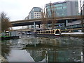 TQ2681 : A404 and A40 Road bridges, Regent's Canal by R Sones