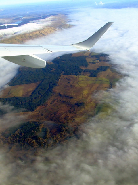 Craigend Muir from the air