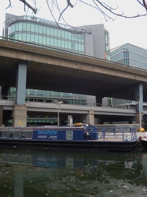 'Beauchamp', under Harrow Road bridge, Regent's Canal