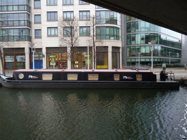 'British Waterways London' under the A40, Regent's Canal