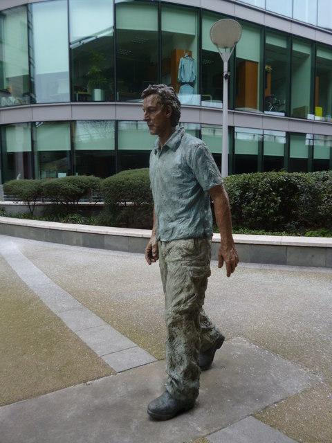 Statue, Sheldon Square W2