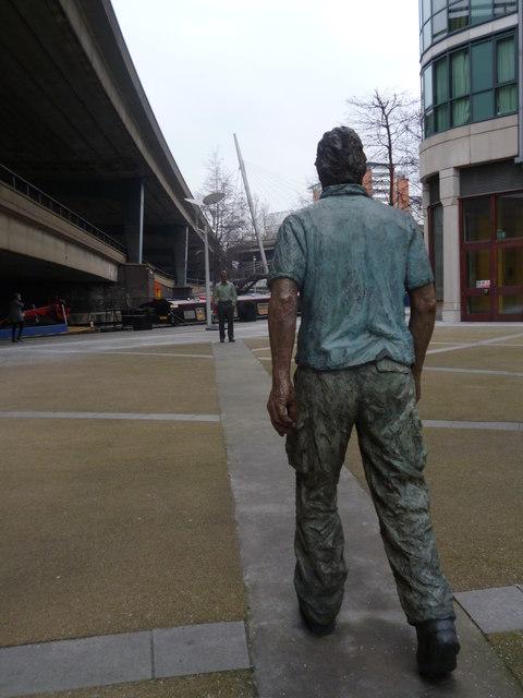 Statues, Sheldon Square W2