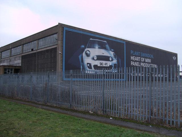 BMW Group Swindon plant, Bridge End Road