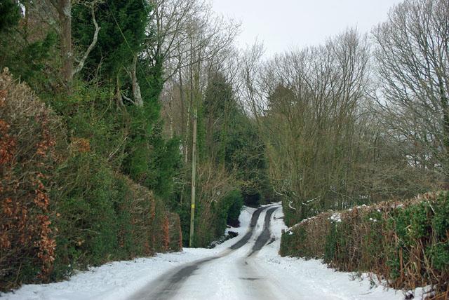 A slippery Nursery Lane