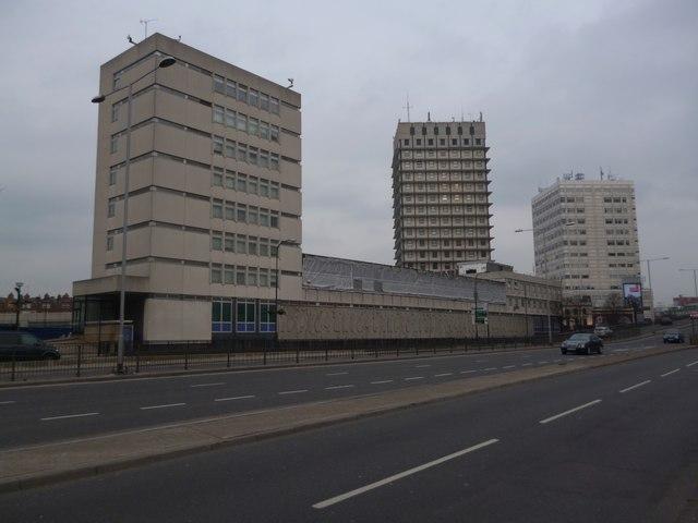 Paddington Green Police Station, Harrow Road W2