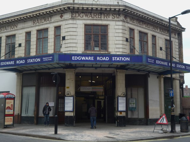 Edgware Road Underground Station, Chapel Street NW1
