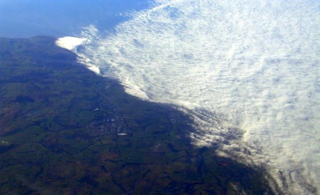 Distington from the air
