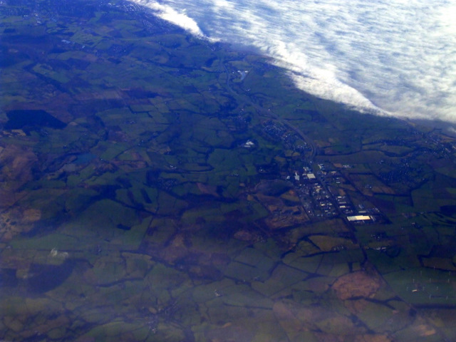 Distington from the air