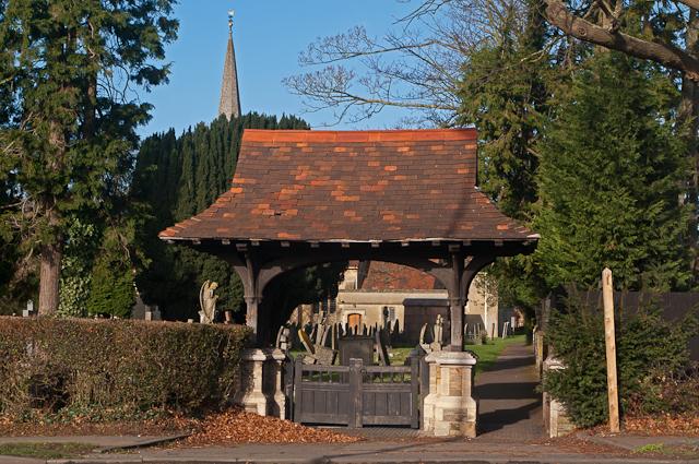 Lychgate, St Bartholomew's Church, Horley