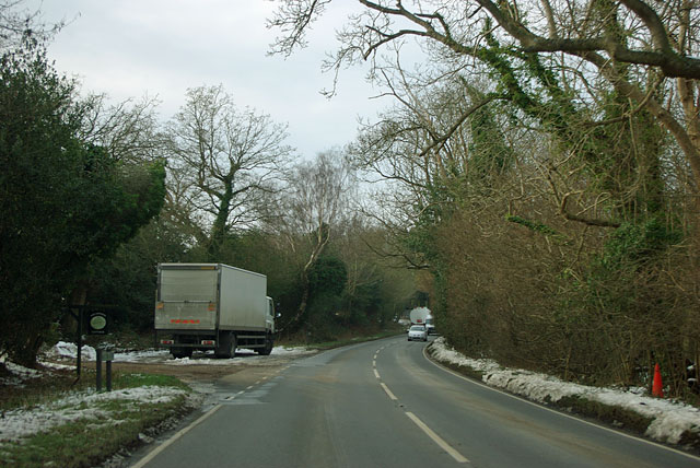 A pull-in on the A272