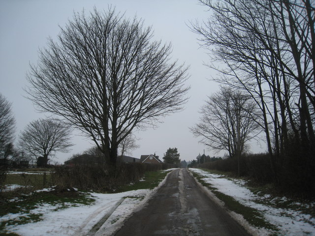The Lane to Brink Hall
