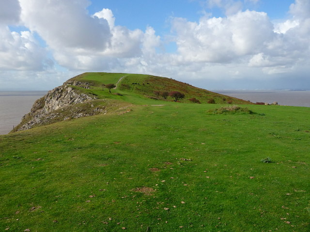 Brean Down - Brean Down View