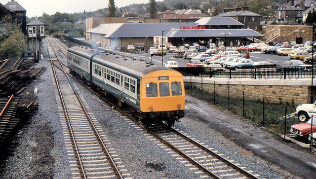 Train, Ilkley (1983)