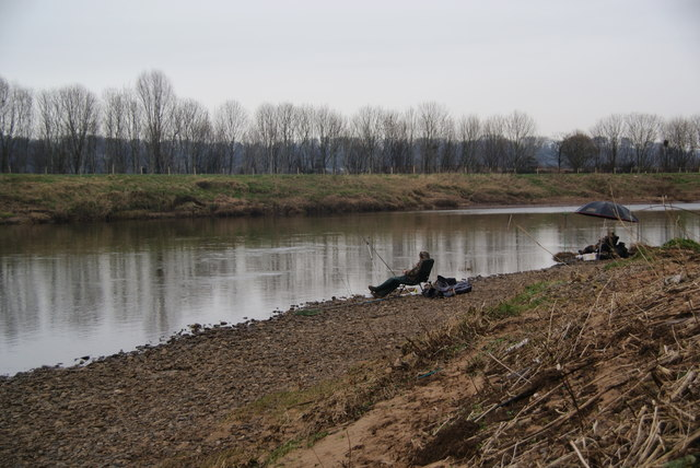 Fishing in the Ribble