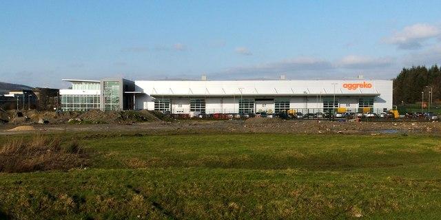Aggreko manufacturing plant