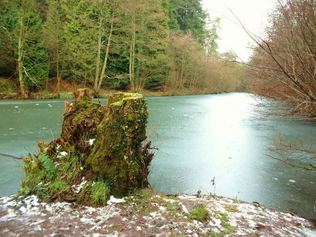 Frozen Soudley Middle Pond