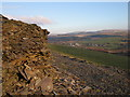 SN7171 : Ysbyty Ystwyth from the edge of Coed Craigyrogof by Rudi Winter