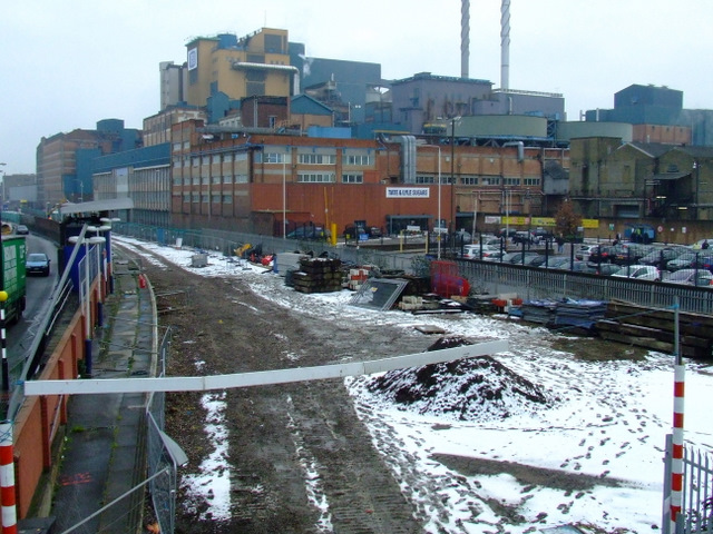 Former Silvertown Station