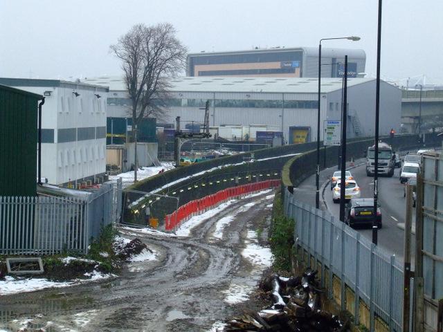 The former North London railway line