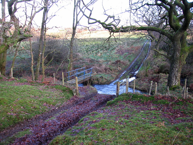 Ford through the Nant yr Henfelin