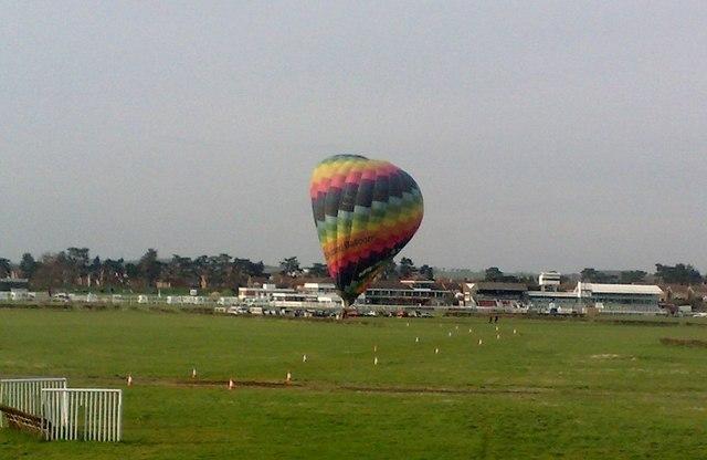 A Balloon at Stratford Racecourse