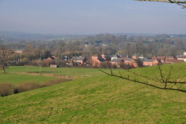 Tiverton : Field & Houses