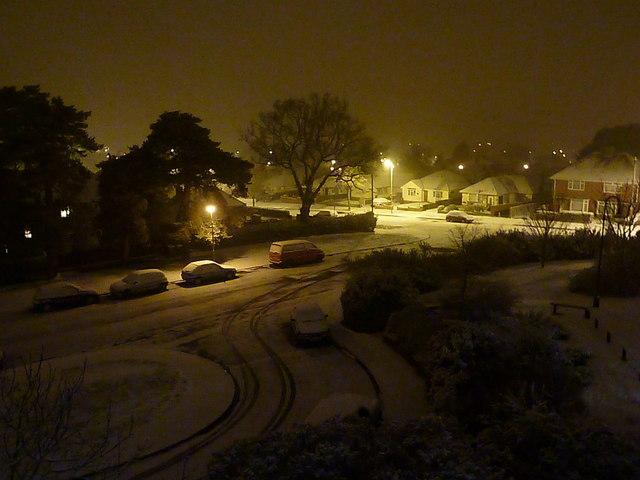 Northbourne: snow returns in 2012