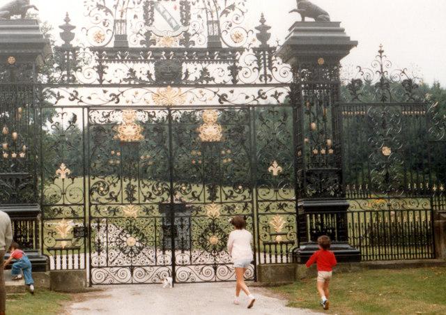 Chirk Castle Gates