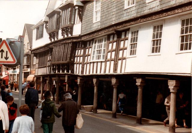 Dartmouth The Butterwalk 1984