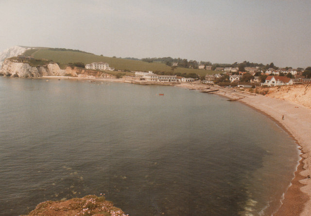 Freshwater Bay IOW 1984