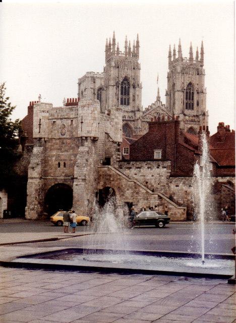 York Minster 1983