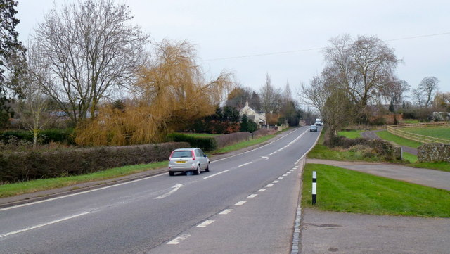 A48 at Stroat