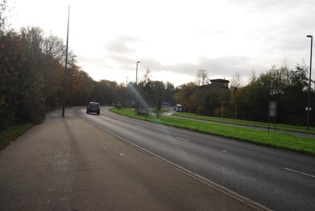 A23, Pease Pottage Hill